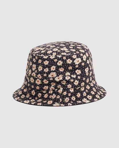 2 DITSY REVERSIBLE BUCKET HAT Black 217601 Element
