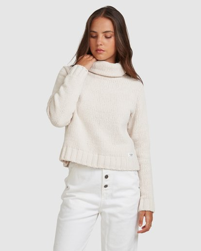 1 COZY NIGHTS KNITTED SWEATER Grey 283421 Element