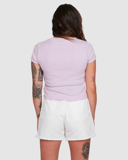 1 FLUTTER BABY TEE Purple 294003 Element