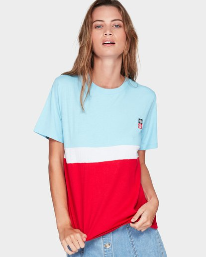 0 SECOND TIME TEE Blue 294004 Element