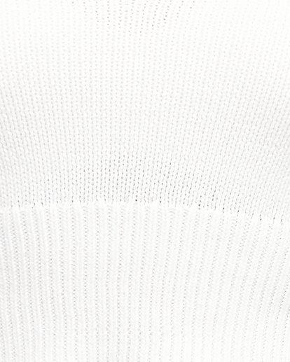 5 PETAL KNIT TOP White 294154 Element