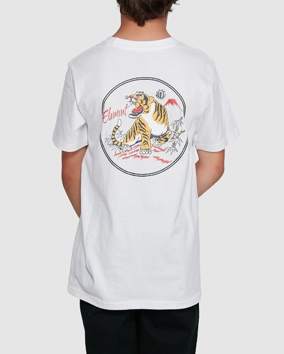 1 YOUTH CAT CLAW SHORT SLEEVE TEE White 302002 Element