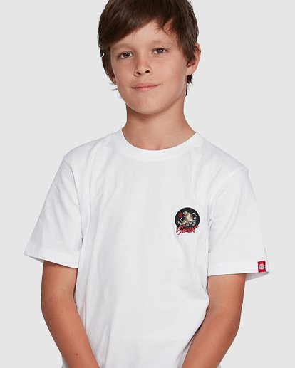 3 YOUTH CAT CLAW SHORT SLEEVE TEE White 302002 Element