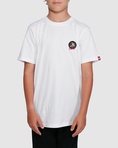 0 YOUTH CAT CLAW SHORT SLEEVE TEE White 302002 Element