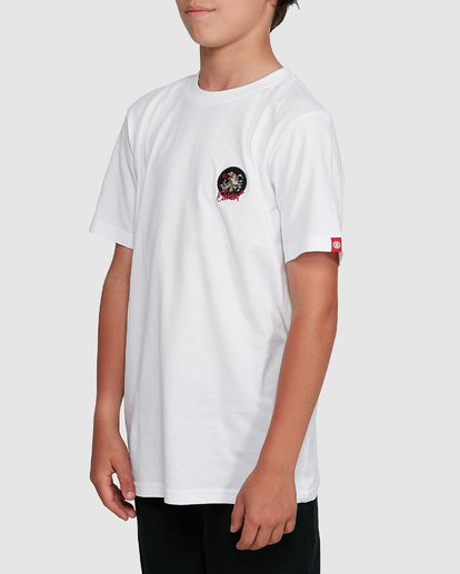 2 YOUTH CAT CLAW SHORT SLEEVE TEE White 302002 Element