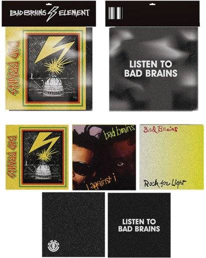 1 Bad Brains Album Sticker Pack Multicolor ACGT3BGP Element