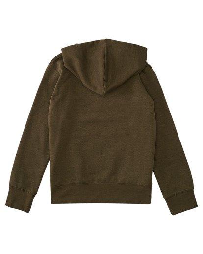1 Boys' Cornell Classic Zip-Up Hoodie Beige ALBFT00134 Element