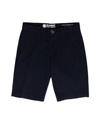 0 Boys' Howland Classic Short Blue ALBWS00100 Element