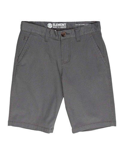 0 Boys' Howland Classic Short Grey ALBWS00100 Element