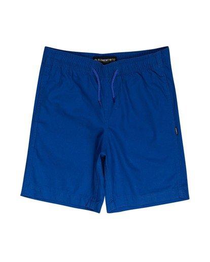 0 Boys' Vacation Short Blue ALBWS00101 Element