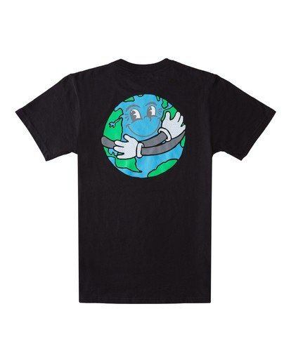 0 Boys' Waller T-Shirt Blue ALBZT00111 Element