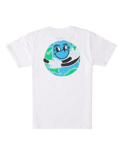 1 Boys' Waller T-Shirt White ALBZT00111 Element