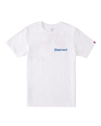 0 Boys' Joint T-Shirt White ALBZT00129 Element