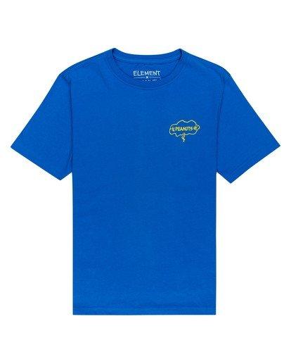 1 Youth Peanuts x Element Slide T-Shirt Blue ALBZT00133 Element
