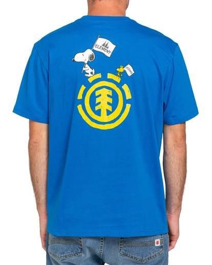 2 Youth Peanuts x Element Slide T-Shirt Blue ALBZT00133 Element