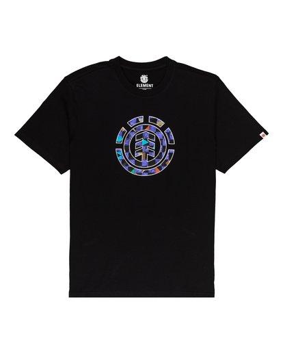 0 Boys' Prism Icon T-Shirt Blue ALBZT00144 Element