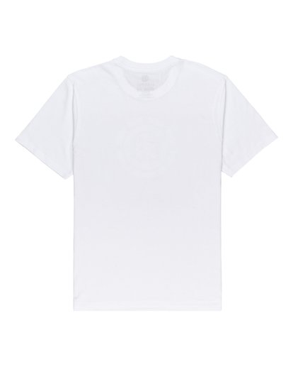 1 Boys' Prism Icon T-Shirt White ALBZT00144 Element
