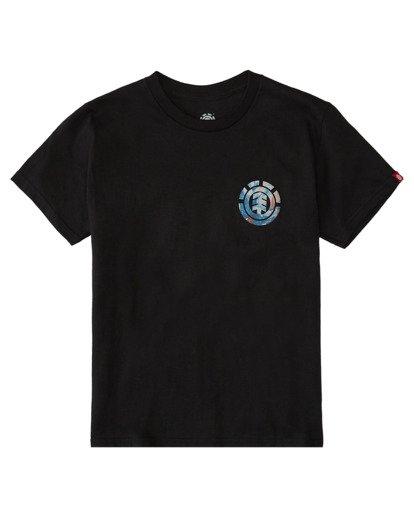 0 Boys' Questa Short Sleeve T-Shirt Blue ALBZT00153 Element