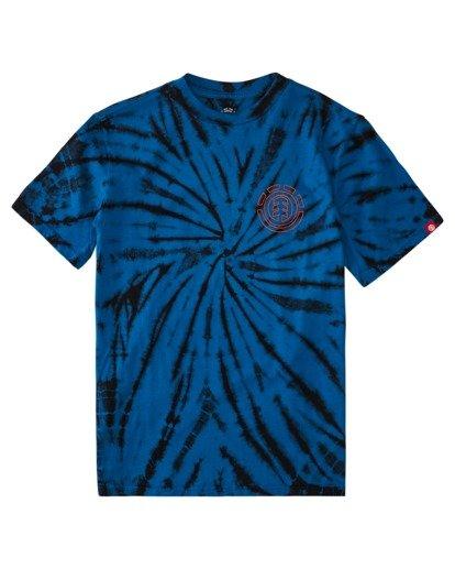 0 Boys' Drake Short Sleeve T-Shirt Blue ALBZT00159 Element