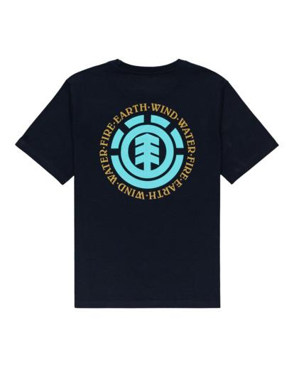 1 Boys' Seal Short Sleeve T-Shirt Blue ALBZT00164 Element