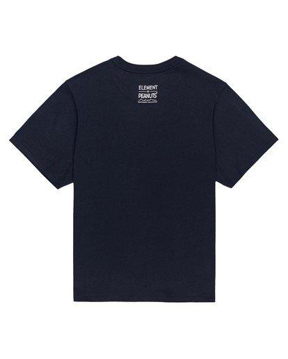 1 Women's Peanuts Simple Living T-Shirt Blue ALJZT00124 Element