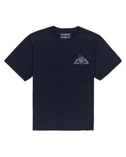 0 Women's Peanuts Simple Living T-Shirt Blue ALJZT00124 Element