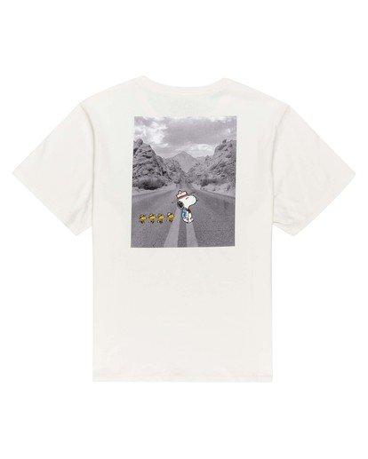 0 Women's Peanuts x Element Adventure T-Shirt White ALJZT00128 Element