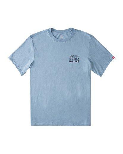 1 Sunnett T-Shirt Blue ALMZT00102 Element