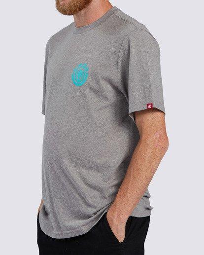 2 Balmor T-Shirt Grey ALMZT00106 Element