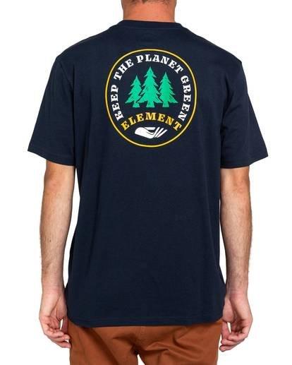 2 Spera T-Shirt Blue ALMZT00111 Element