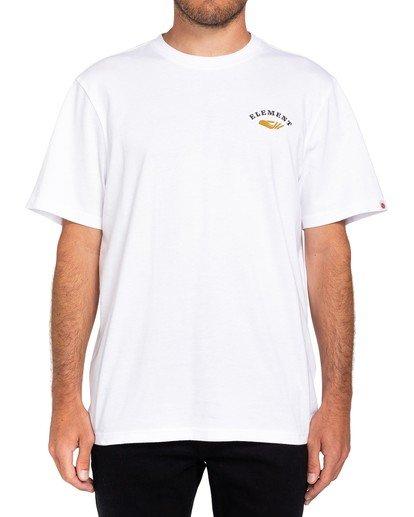 3 Spera T-Shirt White ALMZT00111 Element