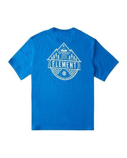 0 Howerton T-Shirt Blue ALMZT00116 Element