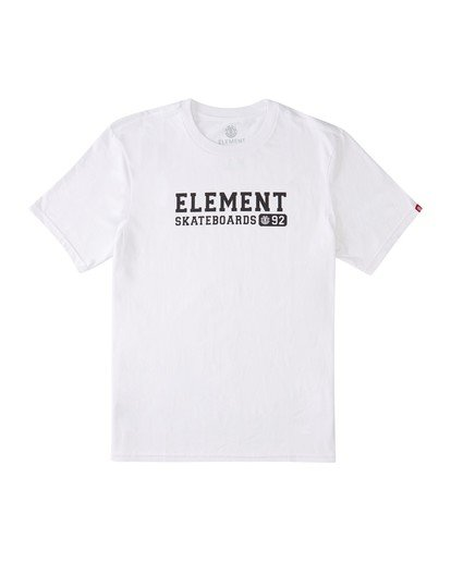 0 Fitch T-Shirt White ALMZT00121 Element
