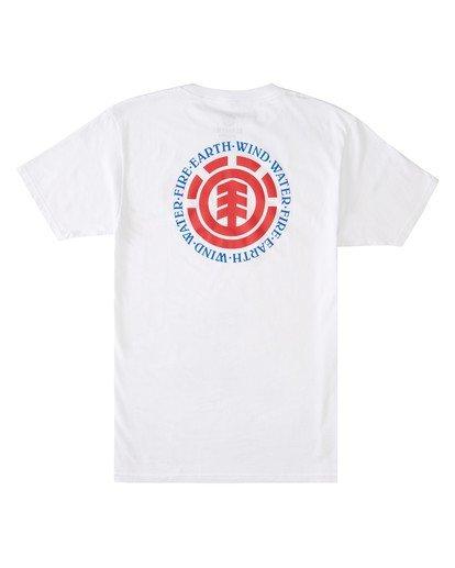1 Seal T-Shirt White ALMZT00132 Element