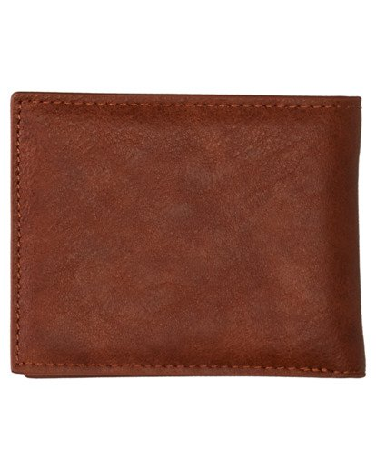 1 Daily Tri-Fold Wallet Brown ALYAA00105 Element