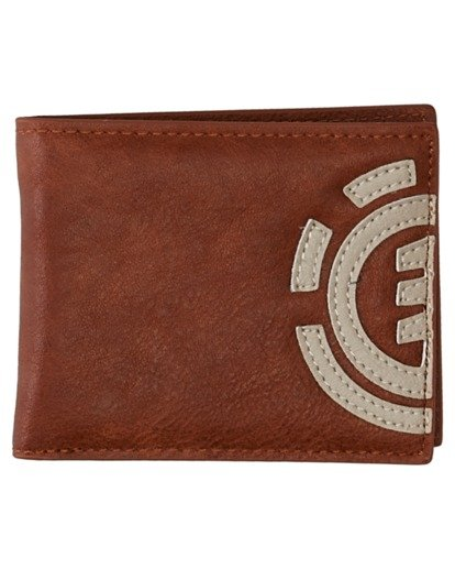 0 Daily Tri-Fold Wallet Brown ALYAA00105 Element