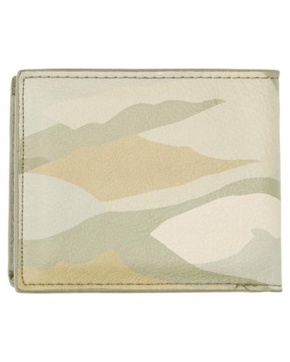 1 Daily Tri-Fold Wallet Beige ALYAA00105 Element