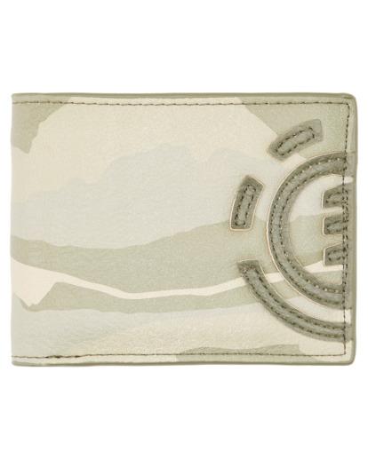 0 Daily Tri-Fold Wallet Beige ALYAA00105 Element