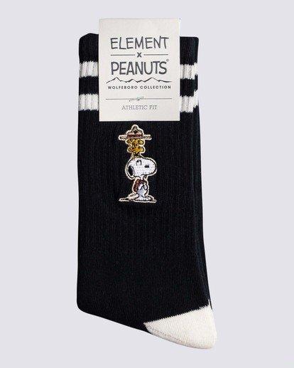 1 Peanuts x Element Socks  ALYAA00106 Element