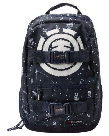 0 92 Galaxy Mohave 30L Large Skate Backpack White ALYBP00105 Element