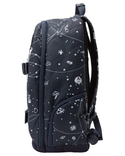 3 92 Galaxy Mohave 30L Large Skate Backpack White ALYBP00105 Element