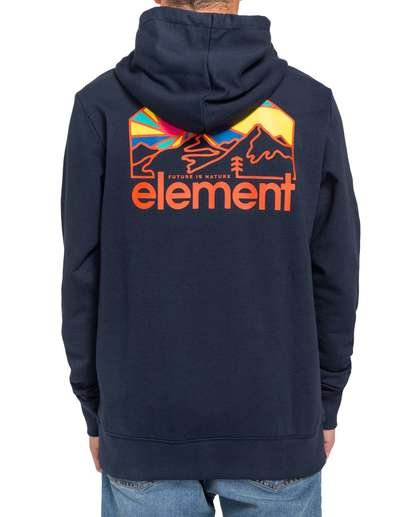 2 Sunnett Hoodie Blue ALYFT00108 Element