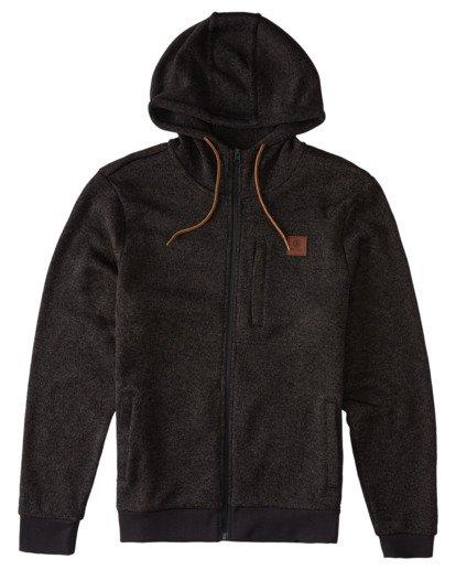 0 Sierra Zip-Up Hoodie Black ALYFT00118 Element