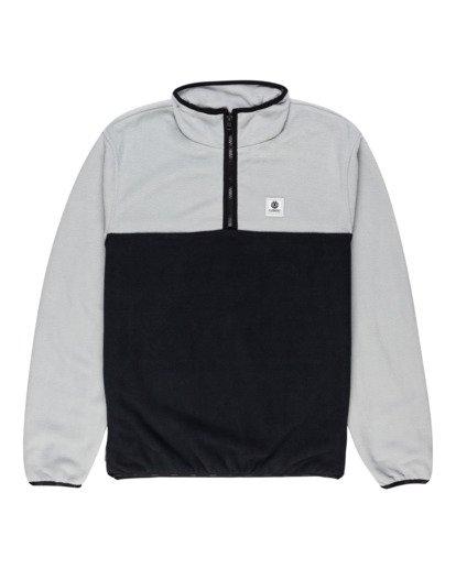 0 Abenaki Quarter-Zip Fleece Grey ALYFT00141 Element