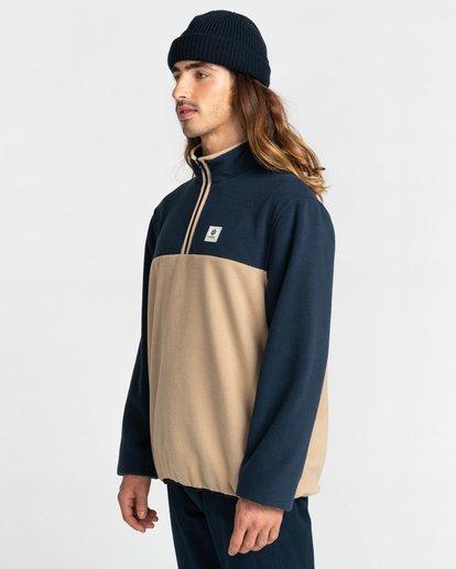 2 Abenaki Quarter-Zip Fleece Blue ALYFT00141 Element