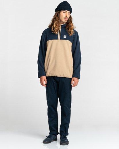 5 Abenaki Quarter-Zip Fleece Blue ALYFT00141 Element
