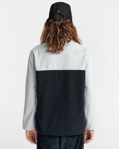 6 Abenaki Quarter-Zip Fleece Grey ALYFT00141 Element