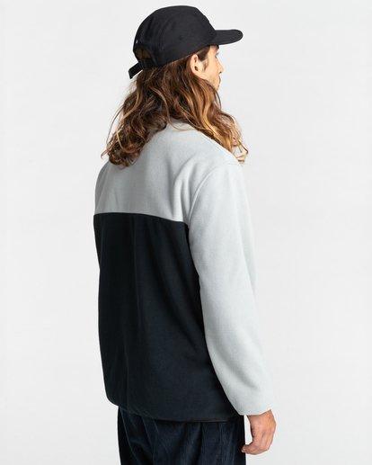 3 Abenaki Quarter-Zip Fleece Grey ALYFT00141 Element