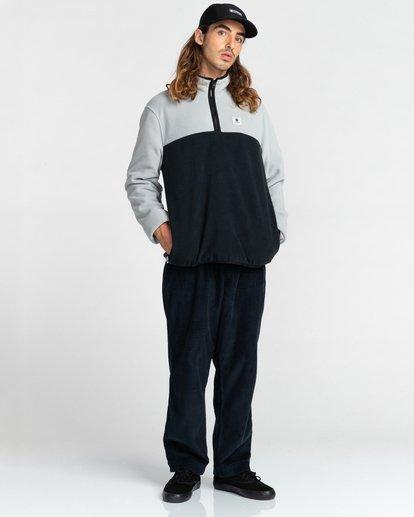 5 Abenaki Quarter-Zip Fleece Grey ALYFT00141 Element