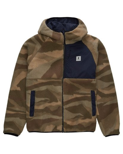 0 Wolfe Zip-Up Camo Jacket  ALYFT00153 Element